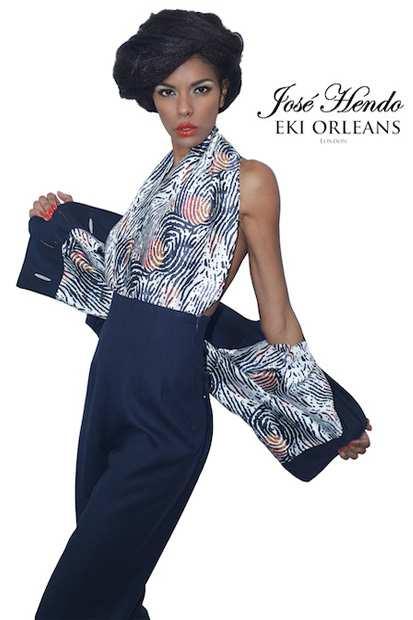 Eki Orleans AW15, Eki Orleans silk african sustainable print scarf