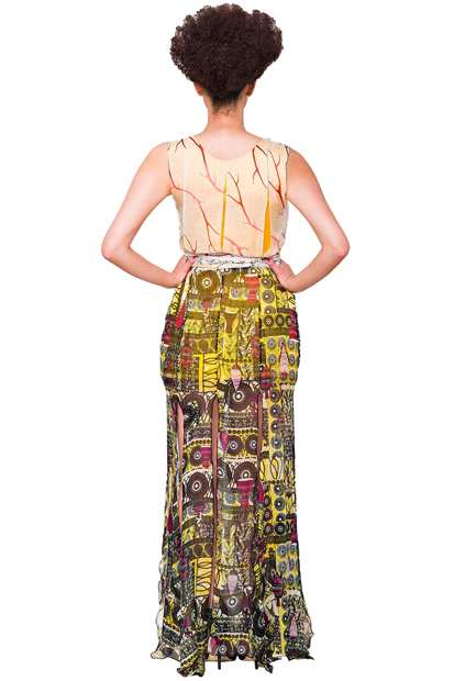 Eki Orleans african inspired silk dresses