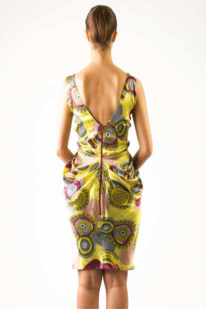 Eki Orleans african inspired silk sustainable dresses