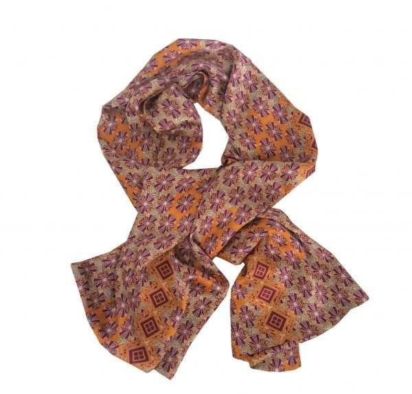 Eki Orleans Eban silk african shawl