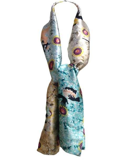 Eki Orleans silk scarves
