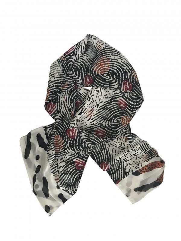 Eki Orleans silk scarf