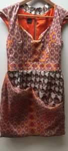 Eki Orleans african inspired sustainable print dress