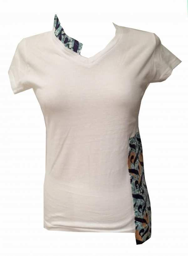 White fairwear Eki Orleans t-shirts