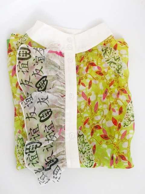 Eki Orleans silk african printed blouses