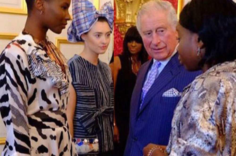 Eki with Prince Charles, Eki Orleans with Prince Charles